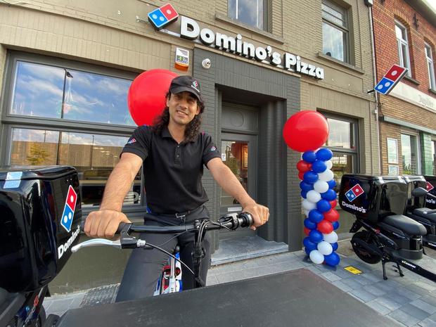 Domino's Pizza opent nieuwe vestiging in Waregem