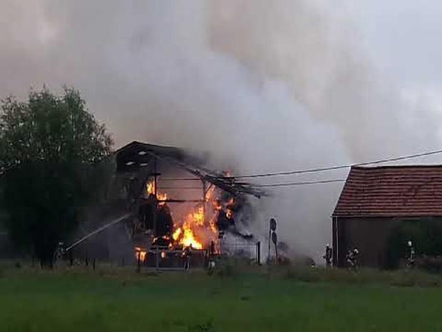 Schuurbrand Nieuwpoort