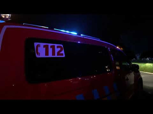 Brand in hoogspanningscabine in Sint-Michiels