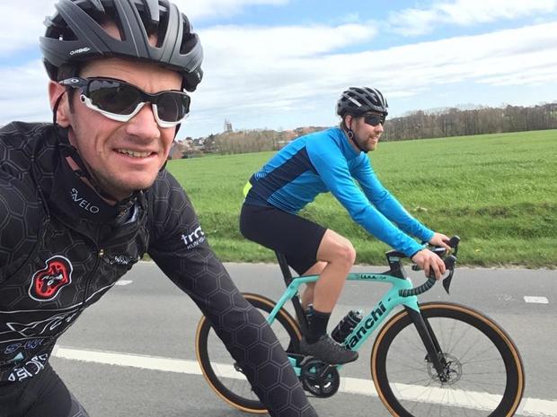 Torhoutse triatleten vinden elkaar terug in de coronacrisis