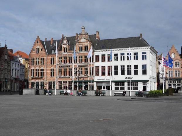 De woensdagmarkt in Brugge gaat niet door