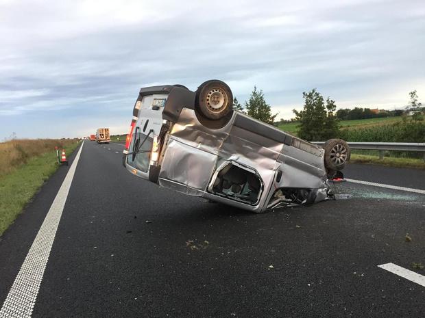 File door ongeval op de E40 in Nieuwpoort