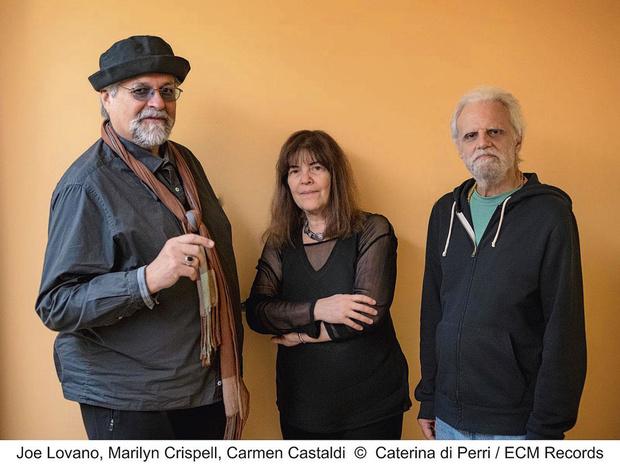 Joe Lovano Trio Tapestry (Marilyn Crispell / Carmen Castaldi)