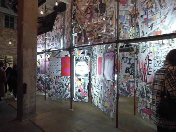 Des ateliers en marge de l'expo de l'Antwerp Poster Festival