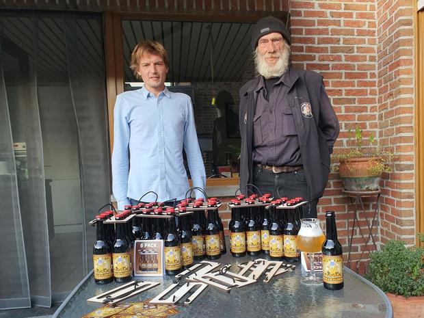 'Mondmaskergedoe' leidt tot nieuw bier in Heule: de Mulleslunse