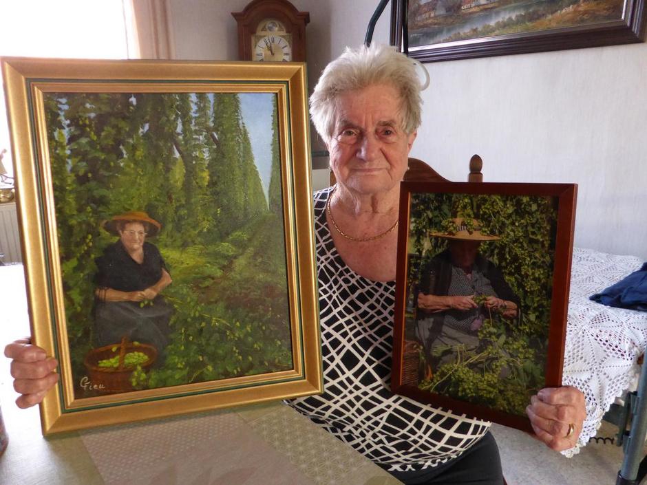 """Elisabeth (93) kan voor het eerst in 87 jaar geen hop plukken: """"Mijn 'meuzeltje' stond al klaar"""""""