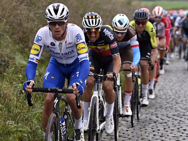 Lampaert vijfde in Ronde, sterke Livyns en Meurisse