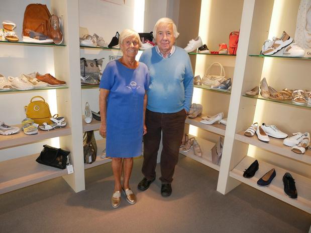 120-jarige schoenwinkel Hostens-Dehaeze is klaar voor veilige opening