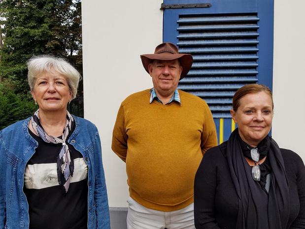 """Christine, Martine en Freddy stellen tentoon in het Koetshuis: """"Binnenkijken in onze schilderwereld"""""""