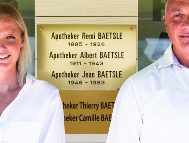 Vijf generatie-apotheek in Mariakerke