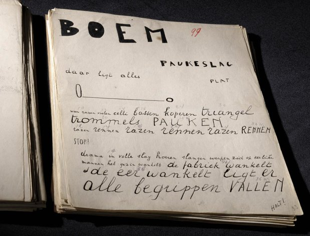 Origineel manuscript Bezette Stad voor het eerst te zien