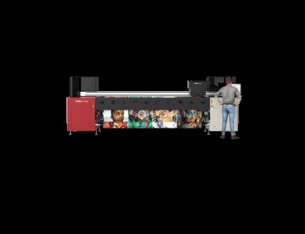 Agfa stelt de nieuwe Avinci CX3200 rollenprinter voor