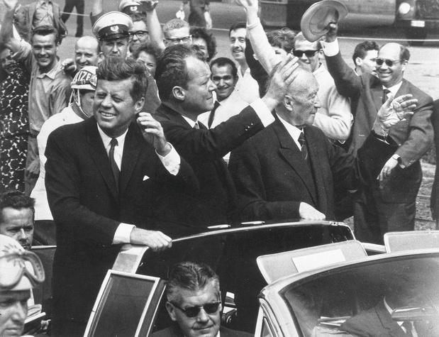 """26 juin 1963 : """"Ich bin ein Berliner"""""""