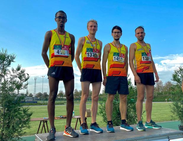 KKS pakt Belgische titel 4x1500 meter
