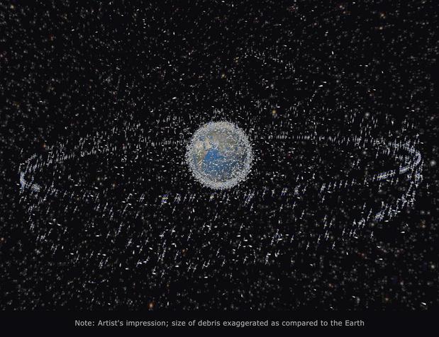 Dépollution: le recyclage mis sur orbite