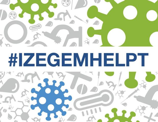 Stad Izegem lanceert #Izegemhelpt en gaat op zoek naar vrijwilligers