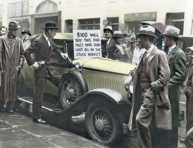 Ces photos qui racontent l'histoire des Etats-Unis: les lois du marché