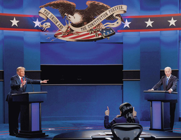 Moderator wint het laatste debat