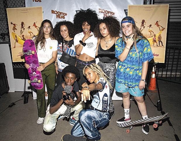 De crew uit Skate Kitchen (2018) en Betty (2020‑2021)
