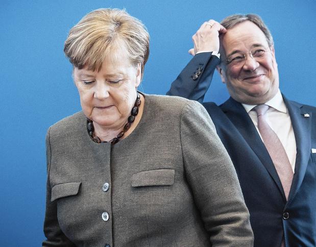 L'impopulaire Laschet en pole position pour succéder à Merkel