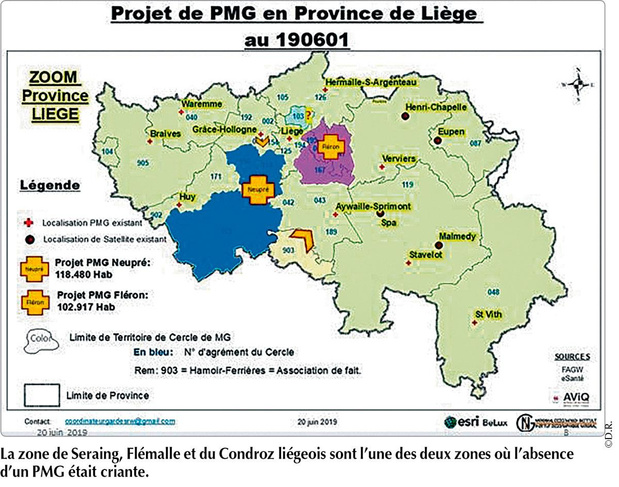 Hamelie, un nouveau PMG pour le sud-ouest liégeois