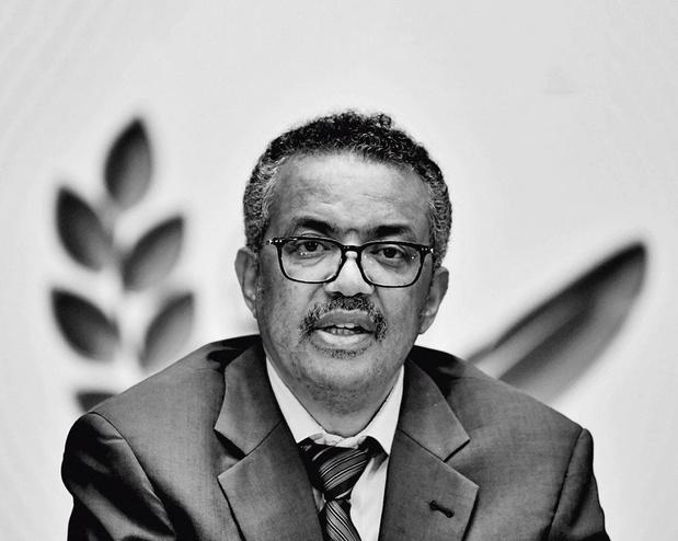 WHO-topman Tedros Adhanom Ghebreyesus