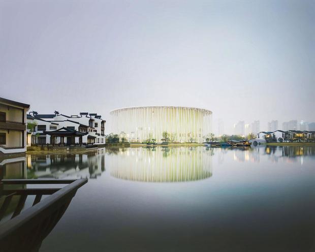 """Dans la bambouseraie de Wuxi, la nouvelle sensation """"art-chitecturale"""" chinoise"""