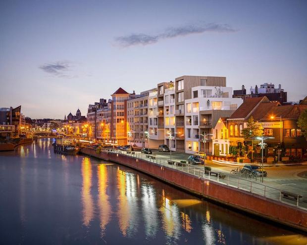 Prijzen nieuwbouwappartementen: Kortrijk beent Brugge bij