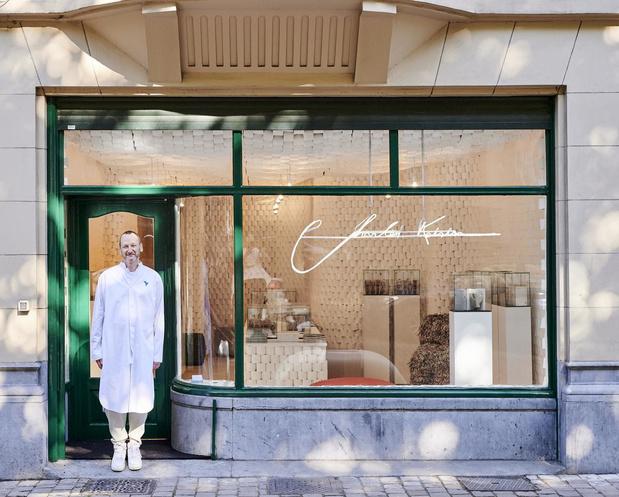 Charles Kaisin ouvre sa première boutique, éphémère