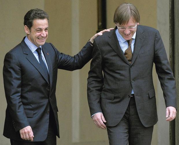 "Sarkozy tacle Verhofstadt : ""Je ne lui faisais guère confiance"""