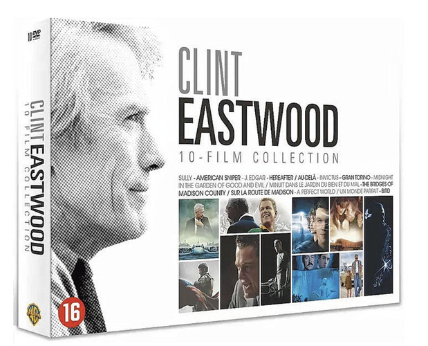 3x dvd-box Clint Eastwood Collection