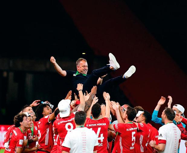 'Bij Bayern München zie je bij de spelers nooit tevredenheid'