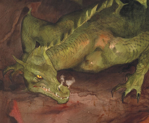Un dragon tchèque