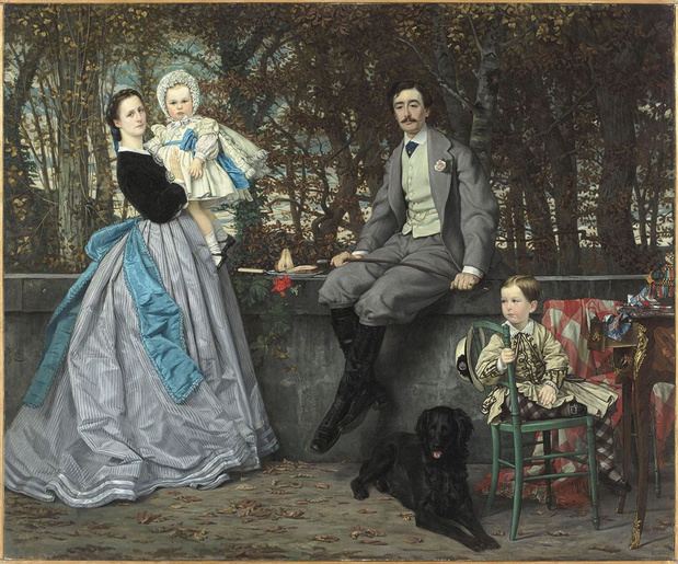 James Tissot, l'étoffe d'un peintre