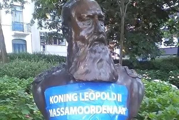 Anonieme acties tegen Leopold II in Oostende en Blankenberge