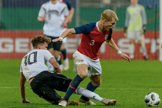AA Gent strikt Noorse verdediger Andreas Hanche-Olsen