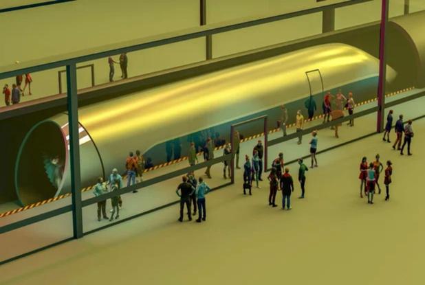 La ministre Crevits veut examiner les possibilités d'un hyperloop flamand