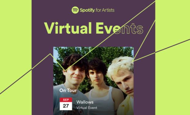 Spotify donnera dorénavant aussi des infos sur les shows virtuels des artistes