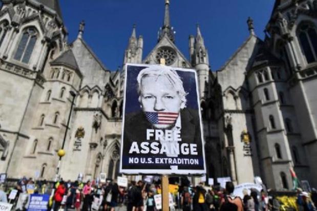 GB: la justice étend le champ de l'appel américain contre le refus d'extrader Assange