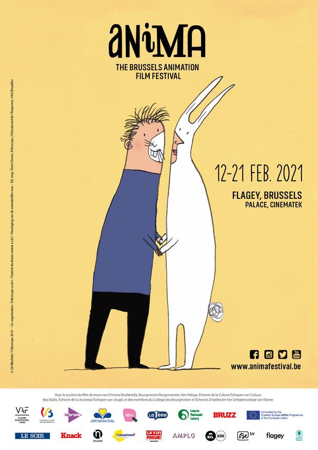 Animatiefilmfestival Anima gaat online door