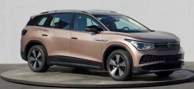 Fuite chinoise de l'inédite Volkswagen ID 6 X