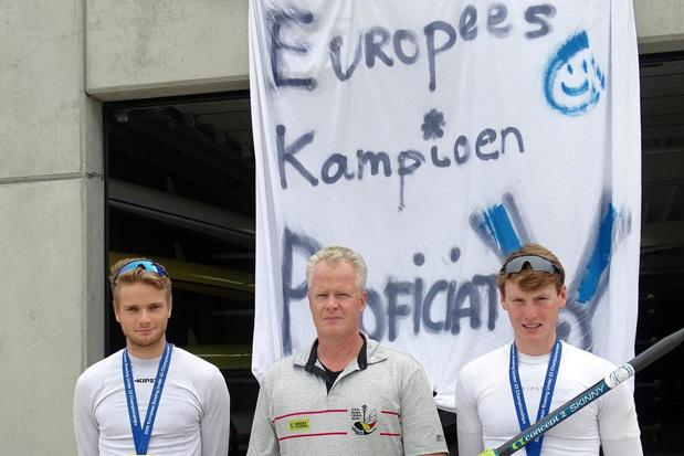 Trainer fier op gouden duo Colpaert-Vyvey