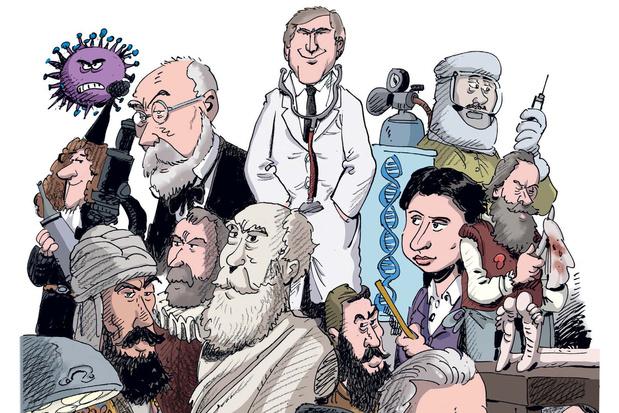 La médecine, une incroyable épopée racontée en bande dessinée