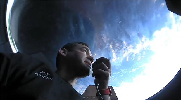 A quoi ressemble la vie dans l'espace pour les touristes de SpaceX?