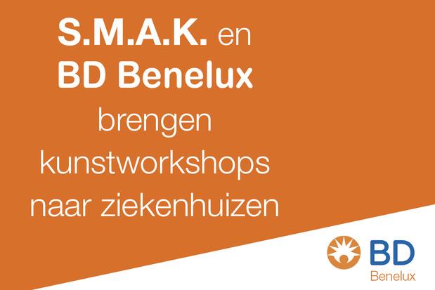 Art for Care: S.M.A.K. en BD Benelux brengen kunstworkshops naar ziekenhuizen
