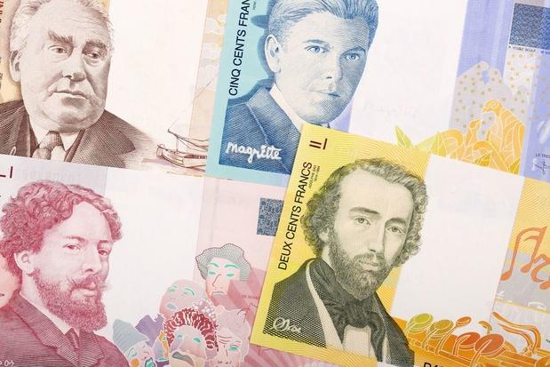 Pour un million et demi d'euros de francs belges échangés en 2020