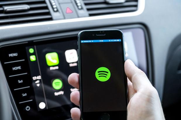 Spotify enregistre une hausse d'utilisateurs et de son bénéfice net au troisième trimestre