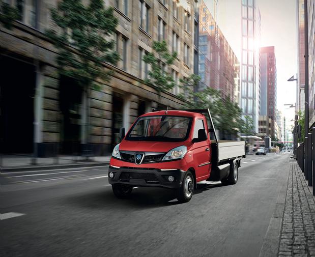 Piaggio-minivrachtwagentje: compact in de stad