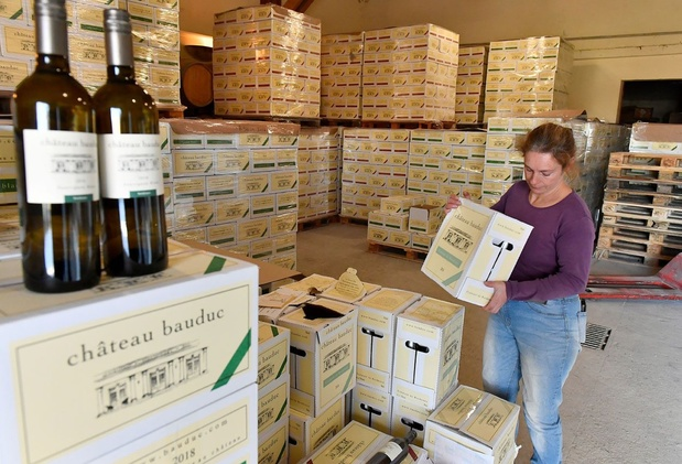 """Taxes américaines sur le vin: """"Rien de dramatique"""" pour les négociants bordelais"""
