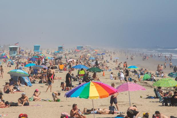En Californie, la ruée sur les plages (voisines) malgré le confinement